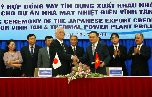 Japan loans 338m for thermal plant