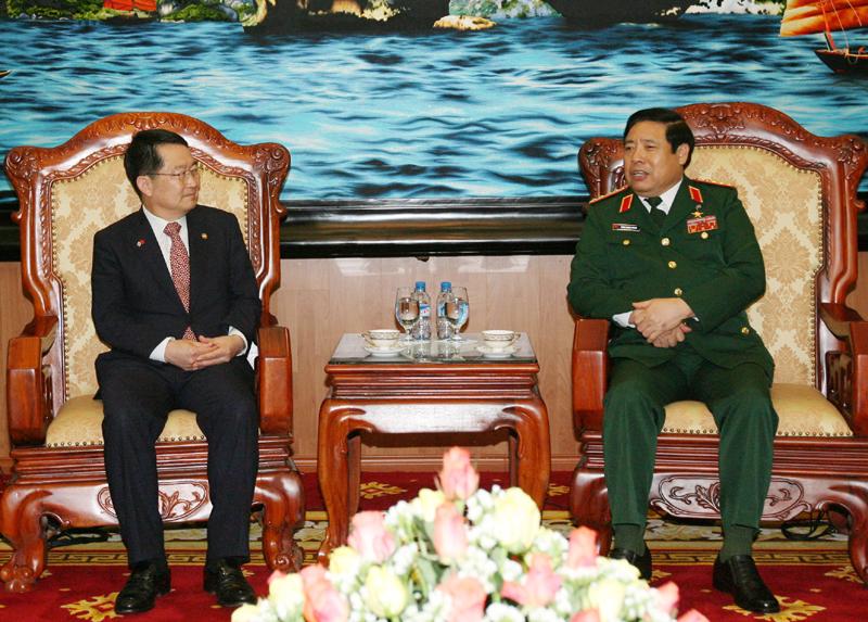 Vietnam RoK hold third defence policy dialogue