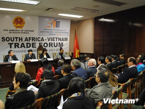 VN to boost trade with S Africa