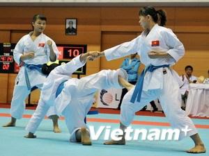 Viet Nam win gold at Asian karate championship