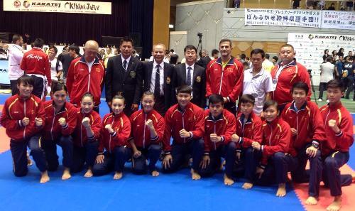 Rookie karate team to head to Incheon