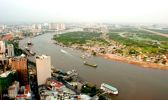 Erosion damages property along HCM City riverbanks