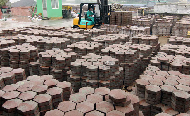 Call to export more building materials