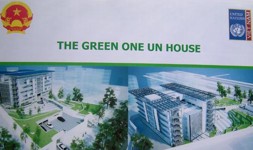Green UN House wins Gold Lotus