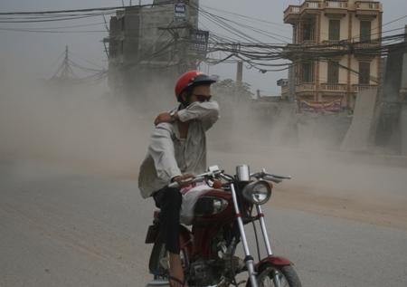 City air pollution causes major health problems