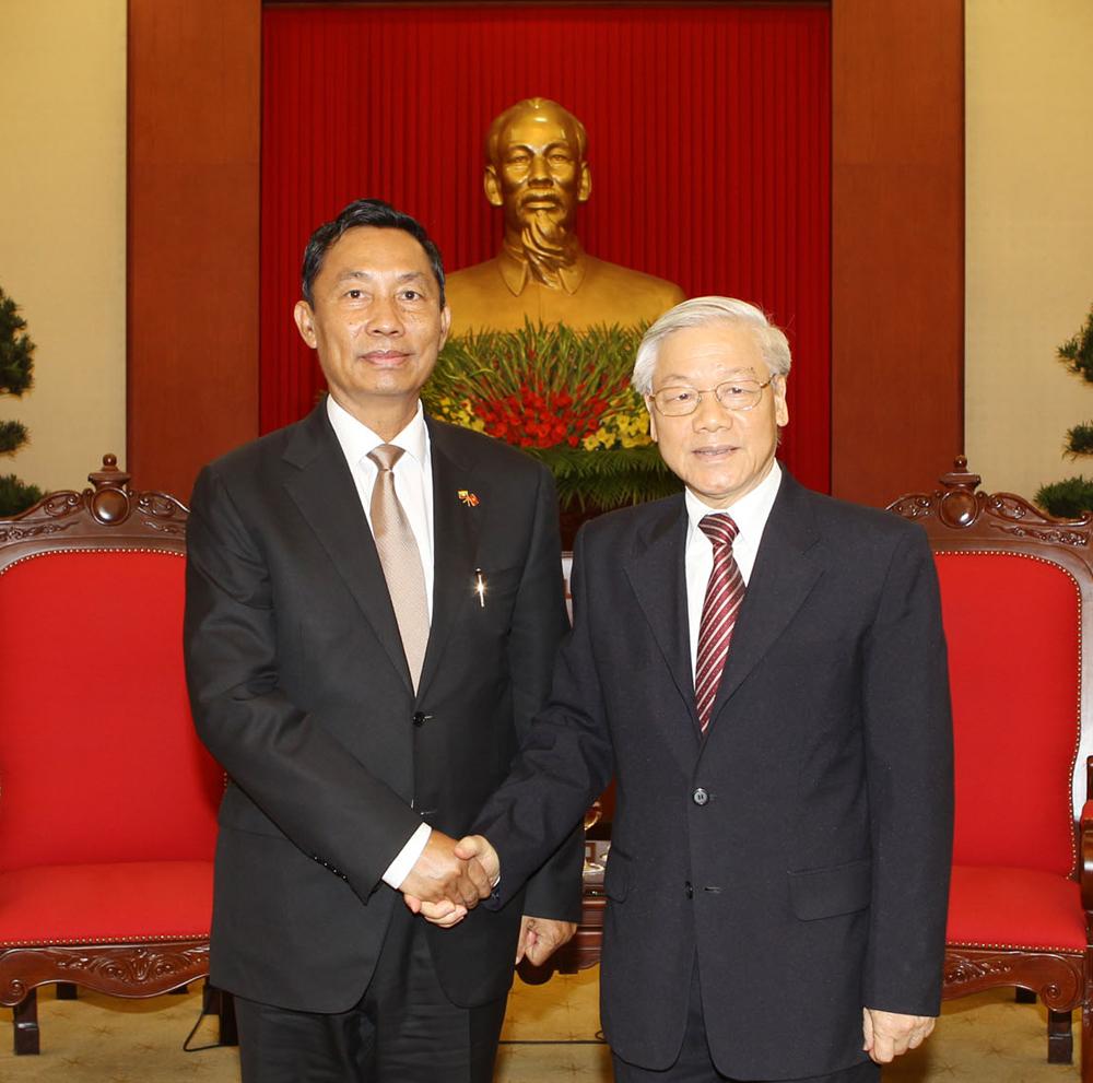 Viet Nam develops ties with Myanmar