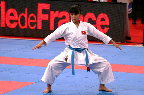 Ngan wins a gold in Istanbul karate league