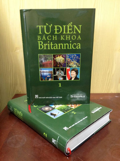 Encyclopaedia Britannica in Vietnamese language goes on sale