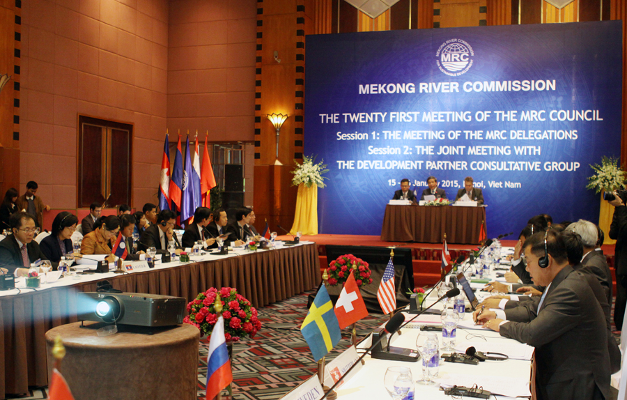 Council discusses Mekong resources