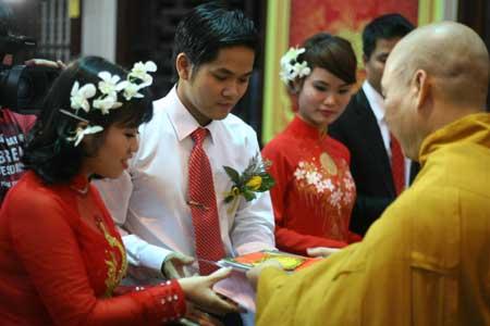 Buddhist weddings gaining popularity