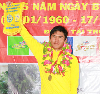Tam wins Ben Tre Cycling Tournament