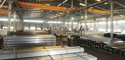 Steel giant reports 27% revenue growth