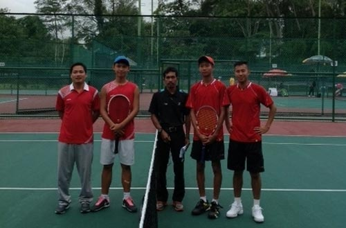 Tennis Vietnamese players reach quarter-finals of Asian tennis championship