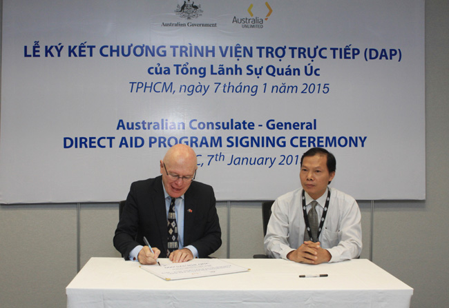 Australia consulate awards DAP grants