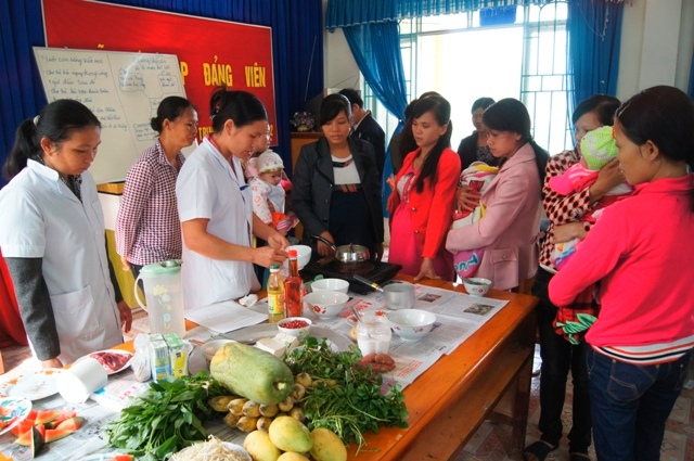 Nutrition week to improve national nutrition status