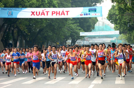 1500 to participate in Ha Noi Moi run