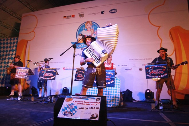 Ha Noi Oktoberfest welcomes beer lovers