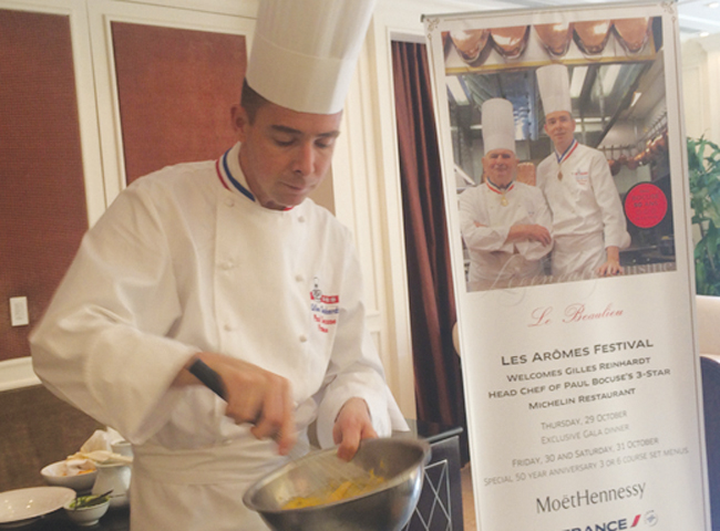 Food fest gets taste of French flair