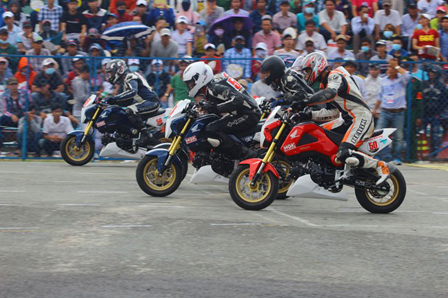 Binh Duong to host national 125cc bike race