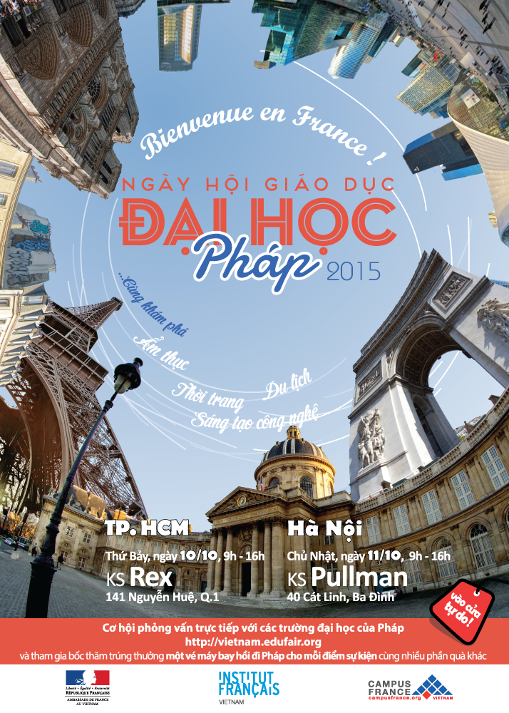 2015 French Education Fair coming