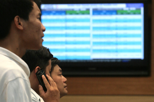VN shares lower after two-day rally