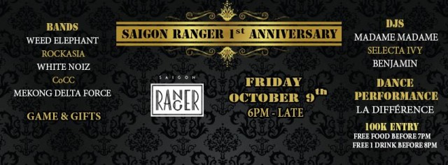 Saigon Ranger celebrates first anniversary