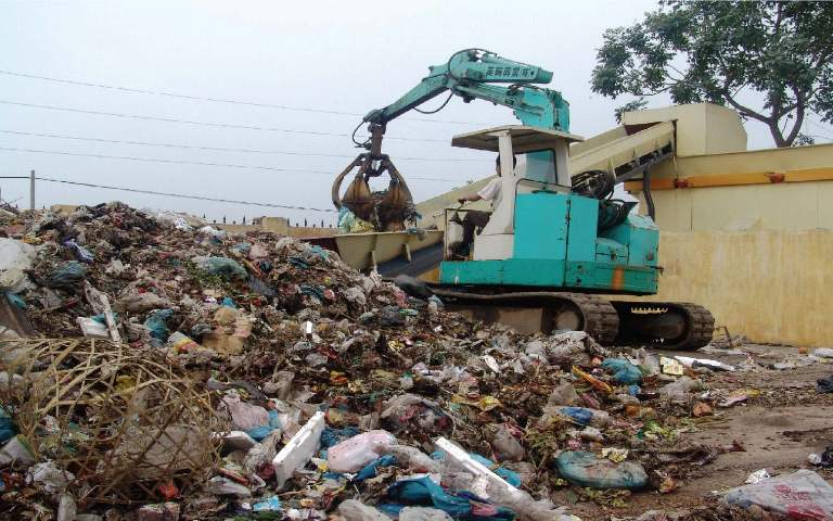Electronic waste piling up in City
