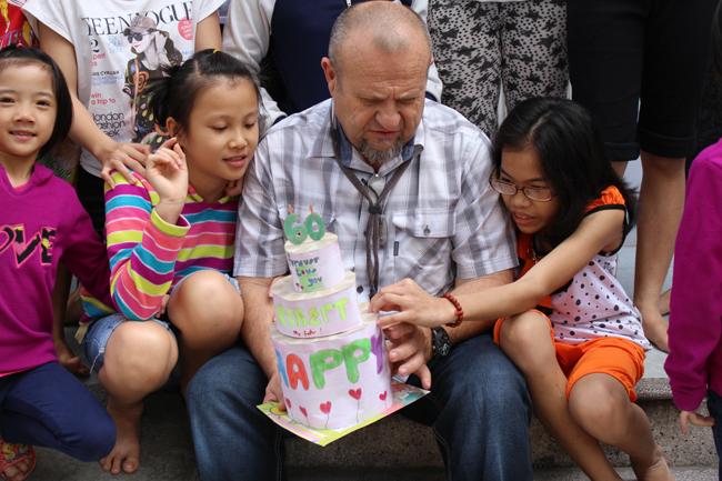 American fosters needy kids