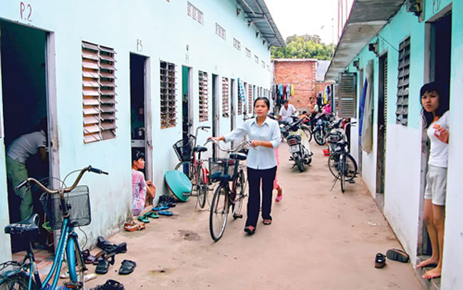 Workers in dire need of housing