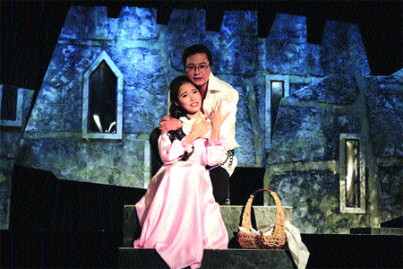 Hamlet in Viet Nam with local flavour