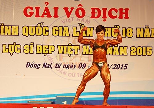 Lan strikes gold at National Bodybuilding Championships
