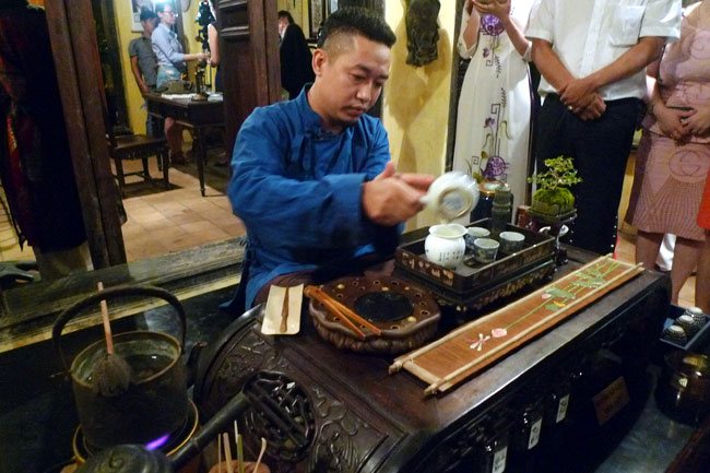 Event honours local tea traditions
