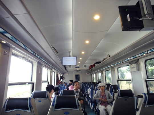 Train tours launched from HCM City to south-central provinces