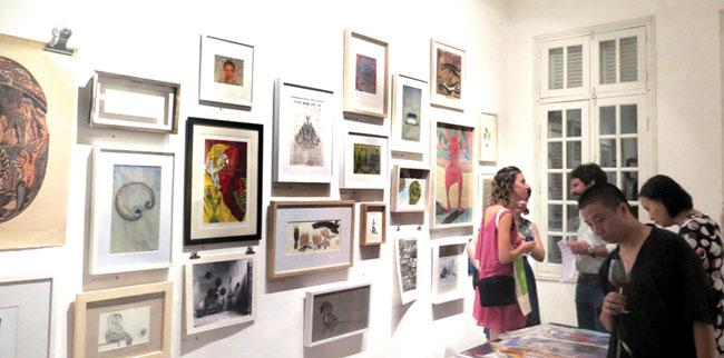 HCM fair offers option for cash-strapped art aficionados
