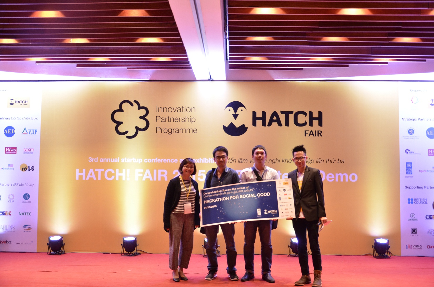 Coding competition promotes social good