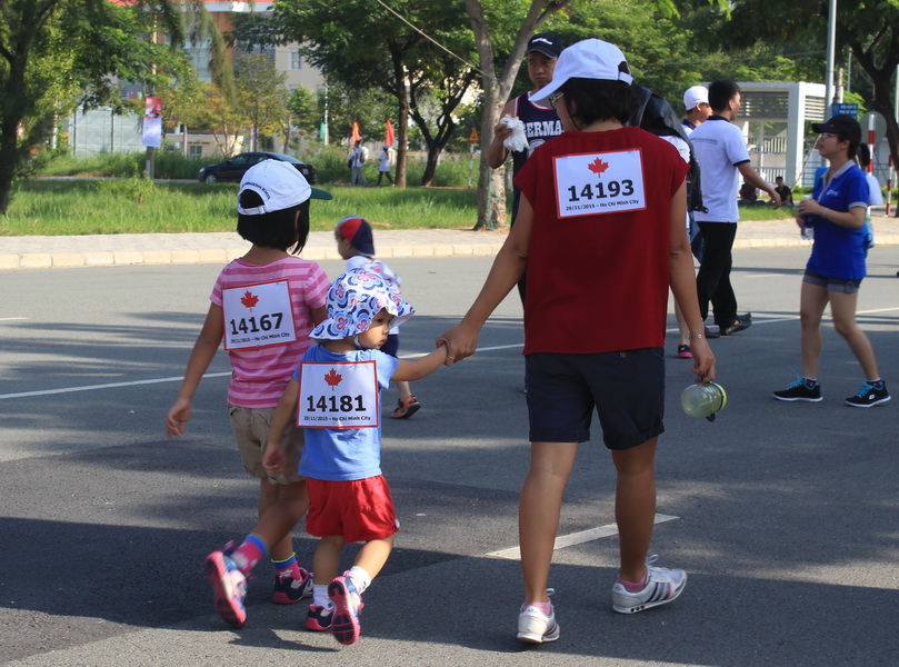 More than 18000 people join Terry Fox Run