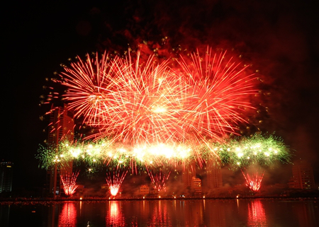 Da Nang to set off virtual fireworks
