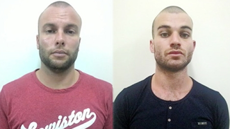 Two foreigners arrested for bank card fraud