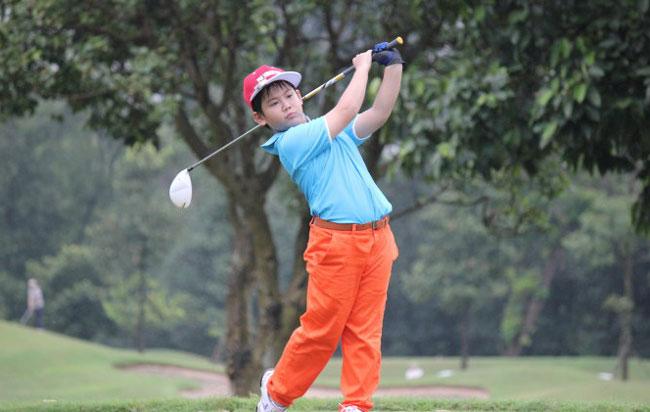Anh wins U10 category at world junior golf event