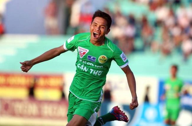 Nam Thang on top goalscorer list