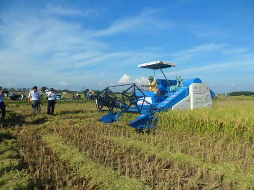 Modern machines to improve agricultural production