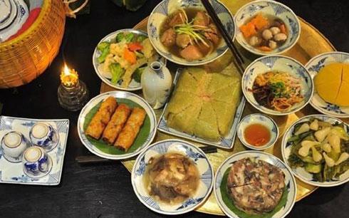 Folk cuisine featured at village