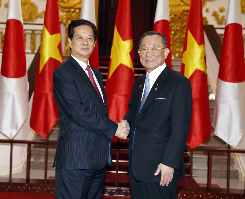 VN aims to boost ties with Japan