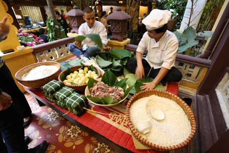 Tet dishes offer taste of past New Years
