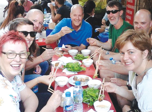 Food tours offer a taste of the capitals cuisine beyond pho