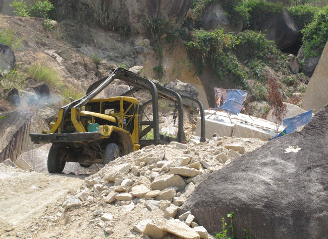 Mining explosions endanger lives in and around mines