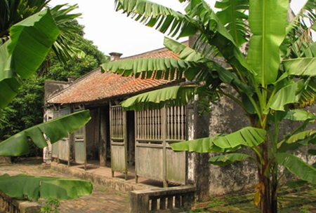 Time capsule: Ba Kien's house, an old house recognised by the State as a relic to be protected because it represents the traditional architecture of Vietnamese homes in the north.