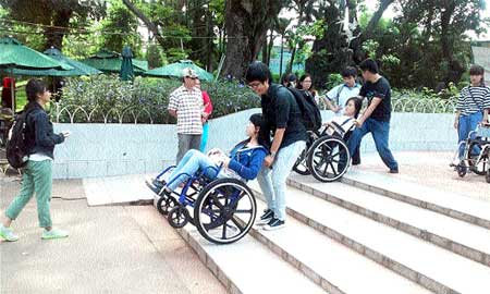 Roadblocks litter the path of the 'disabled