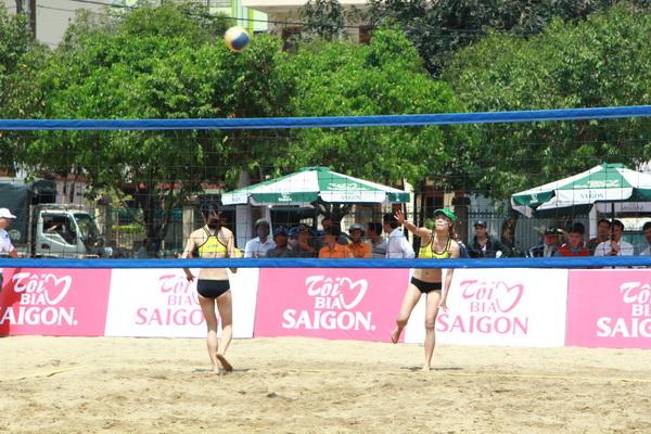 Tram Ngan win national beach volleyball event