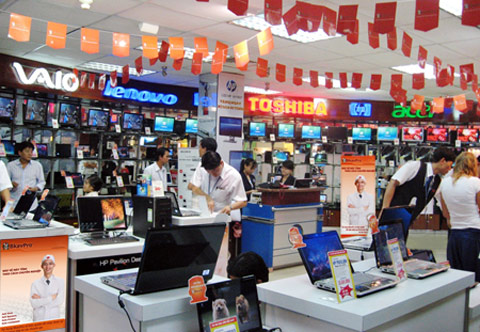 VN only Asian market with rising PC sales
